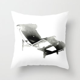 Chaise - Iconic Design Throw Pillow