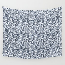 White Lace. Seamless Pattern. Wall Tapestry