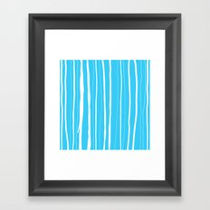 Vertical Living Electric Framed Art Print