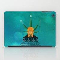 heisenberg iPad Cases featuring HEISENBERG by Tony Vazquez