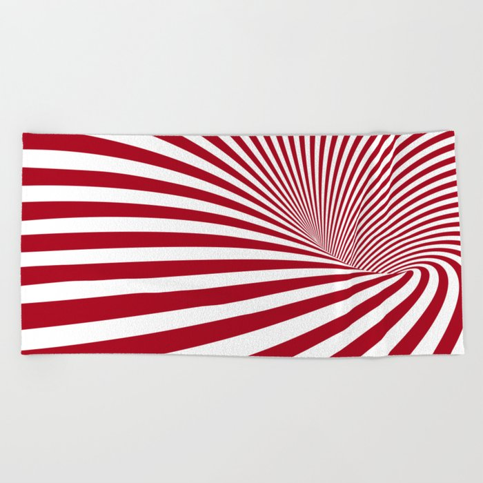 Illusion Beach Towel
