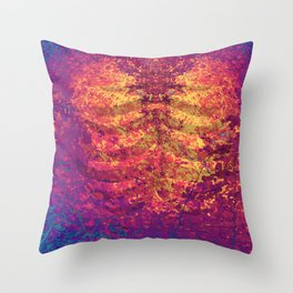 Arboreal Vessels - Heart Breath Throw Pillow