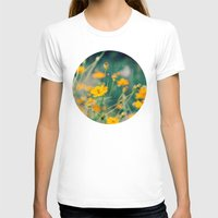 aperture T-shirts featuring Orange Cosmos by Laura Ruth