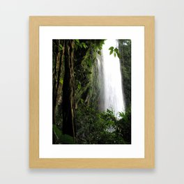 Misol Ha Waterfall Framed Art Print