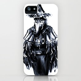 The Crow Lady iPhone Case
