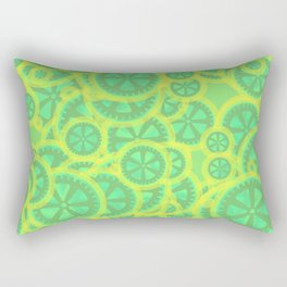 Gearwheels Rectangular Pillow
