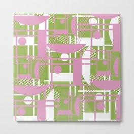 Pink Pastel Metal Print