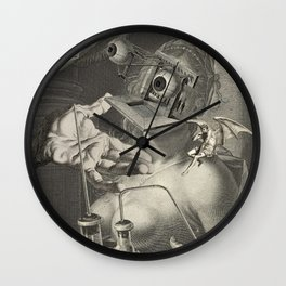 FUN AND GAMES Wall Clock