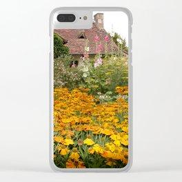 Apremont-sur-Allier Village Cottage Clear iPhone Case