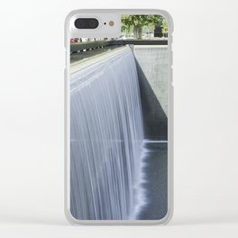 National September 11 Memorial Clear iPhone Case