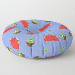 Kiwi Watermelon Floor Pillow