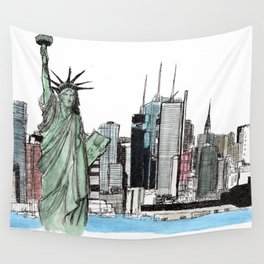 New York. Wall Tapestry