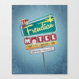 Vintage Motel Canvas Print