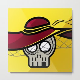 Calavera fashion Metal Print