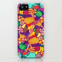 Tropical Food iPhone Case
