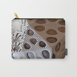 Zebra Mesh Carry-All Pouch