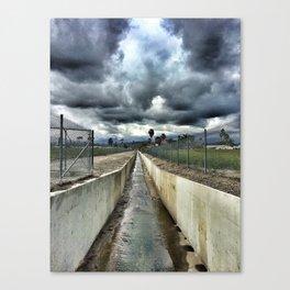 Storm Drain Canvas Print