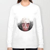 shingeki no kyojin Long Sleeve T-shirts featuring The Hunter and The Pig by icantusechanwei