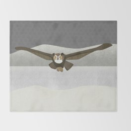 Owl Throw Blanket