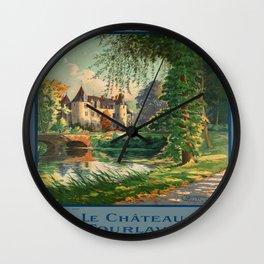 Vintage poster - France Wall Clock
