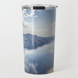 Crater Lake with a view of the Phantom Ship Travel Mug