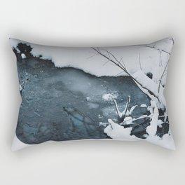 Portland Snowpocalypse I Rectangular Pillow