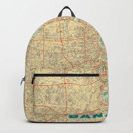Bangkok Map Retro Backpack