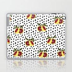 Blood Orange and Dots Laptop & iPad Skin