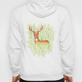 in the grass Hoody