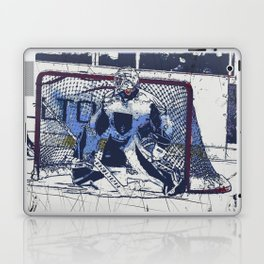 The Goal Keeper - Ice Hockey Laptop & iPad Skin