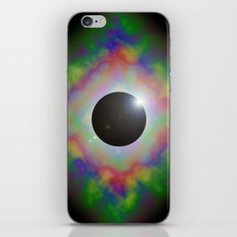 Eclipsed Eye iPhone Skin