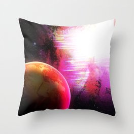 Space Spac Spa Sp S Throw Pillow