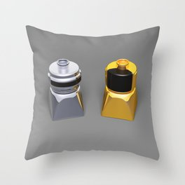 Duplo Daft Punk Throw Pillow
