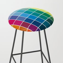 Colorful Soul - All colors together Bar Stool