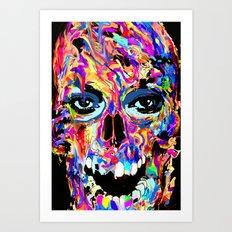 Balzak Skull Art Print