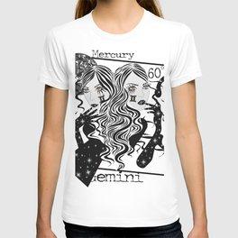 Gemini - Zodiac Sign T-shirt