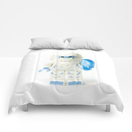 White Yeti Minifig eating an icecream Comforters