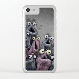 Yip Yip Clear iPhone Case