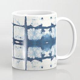 Faded Japanese Shibori Coffee Mug