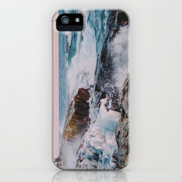 Stormy Winter Sunset iPhone Case