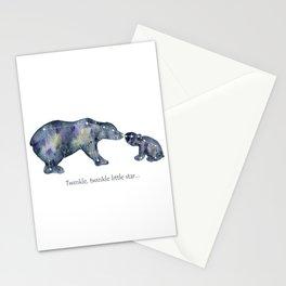 Star Bears Stationery Cards
