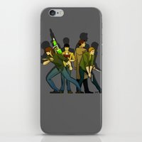 supernatural iPhone & iPod Skins featuring Supernatural by Justyna Rerak