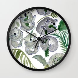 Koala Leef Wall Clock