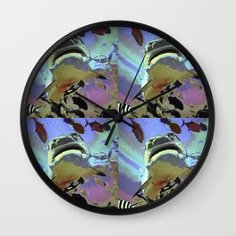 Wondrous Seas Wall Clock