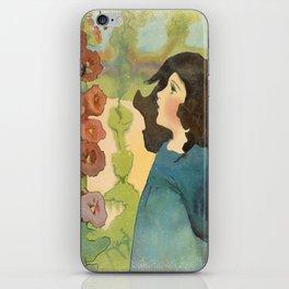 Wandering in a Watercolor Garden iPhone Skin