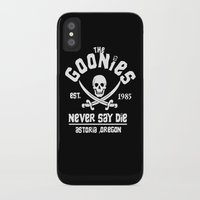 the goonies iPhone & iPod Cases featuring The goonies by CarloJ1956
