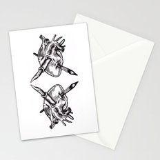 Heart of an artist Stationery Cards