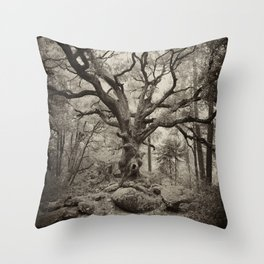 Old Oak Dark  Throw Pillow