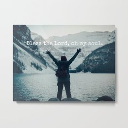 Bless the Lord Metal Print