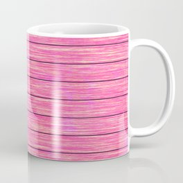 Pink wood board Coffee Mug